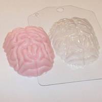 Пластиковая форма для мыла Мозг
