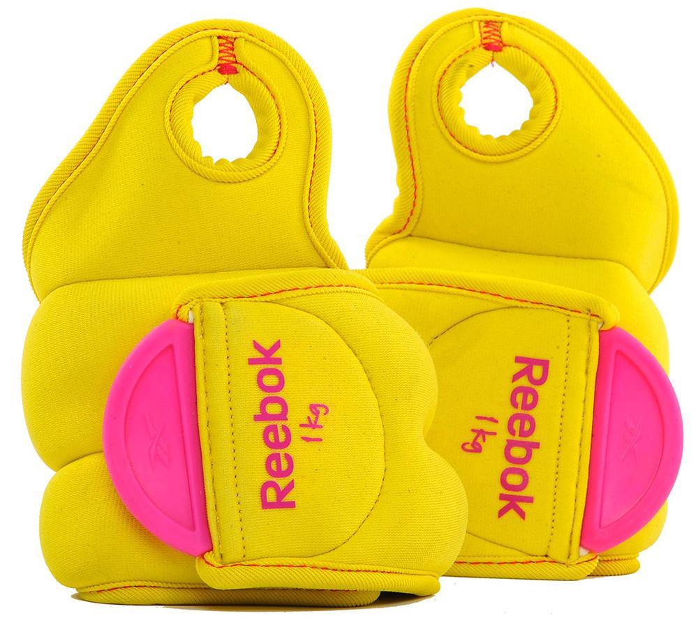 Утяжелители для рук 1 кг «Reebok» Thumblock