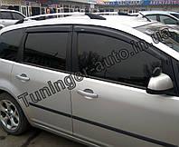 Ветровики, дефлекторы окон Ford C-MAX 2003-2010 (Hic)