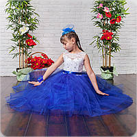 Детское бальное платье в пол, фото 1