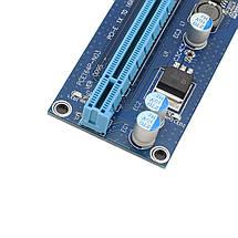 Райзер (Riser) v009s Sata Толстый Кабель USB 3.0 Майнинг, фото 2