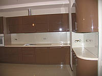 Кухонный фартук стекло 6 мм