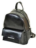 Рюкзак женский черный иск-кожа М 133 Z-ka