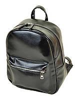 Рюкзак женский черный иск-кожа М 142 Z-ка