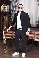 Стильный мужской вельветовый костюм