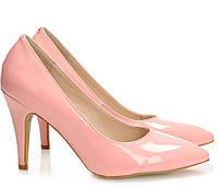 Элегантные туфли на каблуке купить Киев Украина фото 2016 Accuring Pink