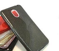 Силиконовая накладка Gliter для Samsung J730 (Black)