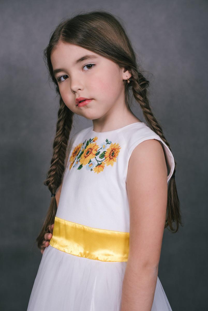 Дитяче плаття Сонечко (128-134 см)  продажа 501b0f1f3c48c