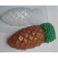 Пластиковая форма для мыла шишка