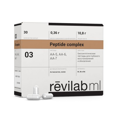 Revilab ML 03 - для нервной системы и глаз, 30 капсул