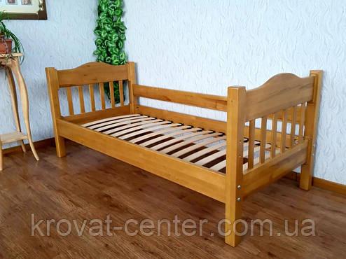 """Кровать детская """"Фудзи"""". Массив - ольха, береза. Палитра - 10 цветов на выбор., фото 2"""