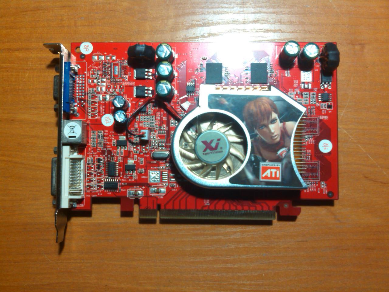 AMD X550XT 256MB 64bit GDDR2 PCI-E Гарантія!