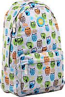 Рюкзак молодежный ST-31 Funny owls, 44*28*14, 555427 YES, фото 1