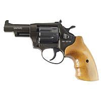 Револьвер под патрон флобера Safari РФ 431М с рукояткой из бука