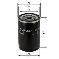 Масляный фильтр Bosch P2061 для Ford, Hyundai, Kia, Suzuki, Renault
