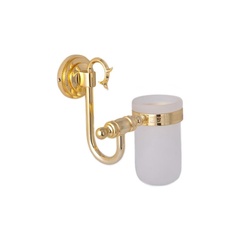 Стакан для зубных щеток ( Versace ), золото A231006