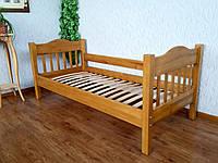 """Подростковая кровать """"Фудзи"""" (190\200*80\90). Массив - береза. Палитра - 10 цветов на выбор."""