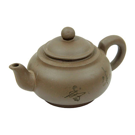 Глиняный заварочный чайник для чая Счастье, 425 мл , фото 2
