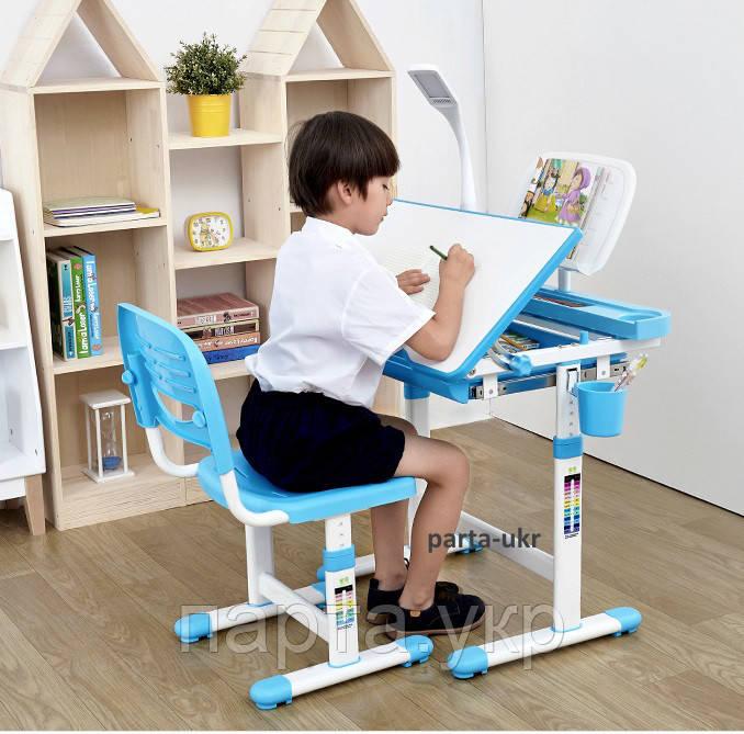 Комплект Сantare Детская парта и стульчик, лампа и подставка