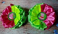 """Резиночки для девочки """"Свинка Пеппа"""", атласные, фото 1"""