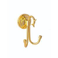 Гачок подвійний для ванної ( Versace ), золото A231030