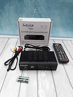 Satcom T530 приставка (тюнер) на т2