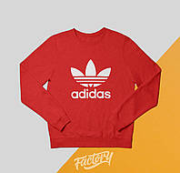 Свитшот Adidas Originals | красный | толстовка | реглан | реплика
