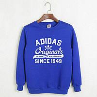 Свитшот Adidas Originals | синий | толстовка | реглан | реплика