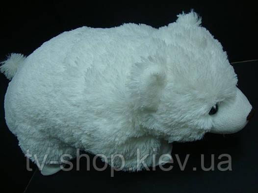 Подушка-игрушка Белый медведь