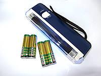 Детектор валют ручной ультрафиолетовый + 4 батарейки в комплекте