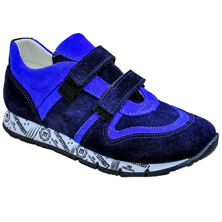 Кроссовки демисезонные синего цвета для мальчика, MINIMEN