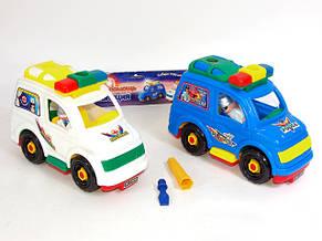 Конструктор  машинка скорая помощь и полиция, фото 2