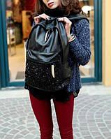 Рюкзак женский с пайетками