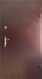 Металлические входные двери Редфорт метал/метал утепленные