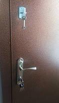 Металлические входные двери Редфорт метал/метал утепленные, фото 2
