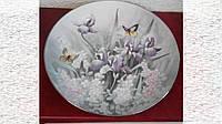 Коллекционная тарелка Цветы Bradex Германия