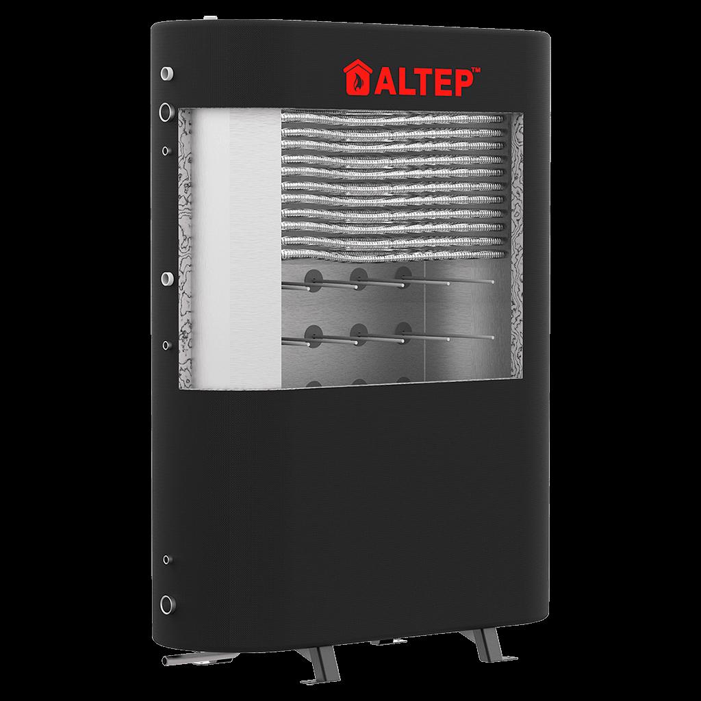 Плоский теплоаккумулятор с теплообменником Альтеп 1000 л