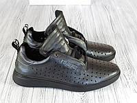 Мужские кожаные кроссовки Bikkembergs