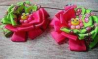 "Резиночки/заколочки для девочки ""Яркие цветики"", фото 1"