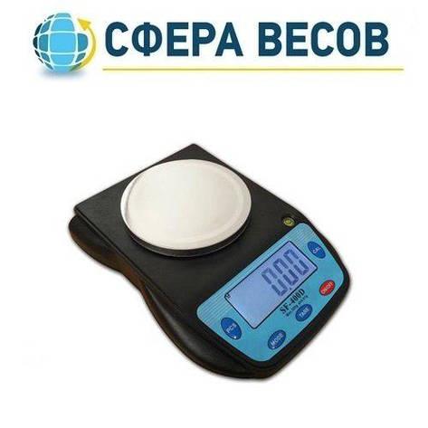 Весы лабораторные ПРОК SF-400-D (500 г) , фото 2
