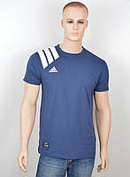 "Мужская футболка ""Adidas 18021"" синий"