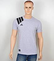 "Мужская футболка ""Adidas 18021"" меланж"