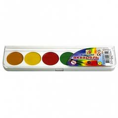 Краски акварель медовые Луч 19с1282/11с705, 6 цветов, б/кист.