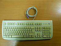 Клавиатура Logitech Deluxe 250 PS/2 белая