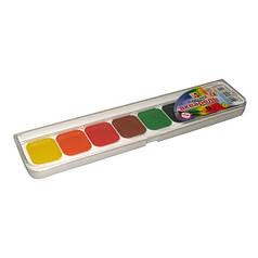 Краски акварель медовые Луч 19С1284, 8 цветов, б/кист.