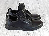 Черные модные мужские кроссовки Bikkembergs, фото 1