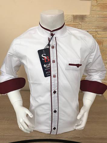 Детская рубашка стойка 2-7, фото 2