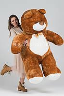 Кофейный большой плюшевый медведь Балу 200см
