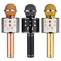 Беспроводной караоке микрофон WS-858, фото 1