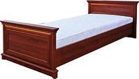 Кровать Людовик 90см орех/каштан
